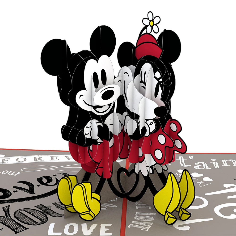 Image For Mickey and Minnie in Love 3D Card by Lovepop