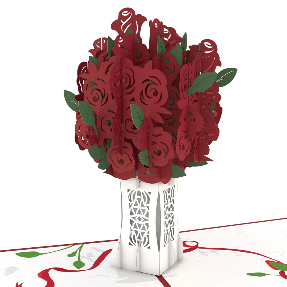 Image For Rose Bouquet 3D Card by Lovepop