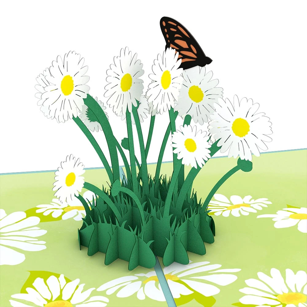 Image For Daisy Patch Decorative 3D Card by Lovepop