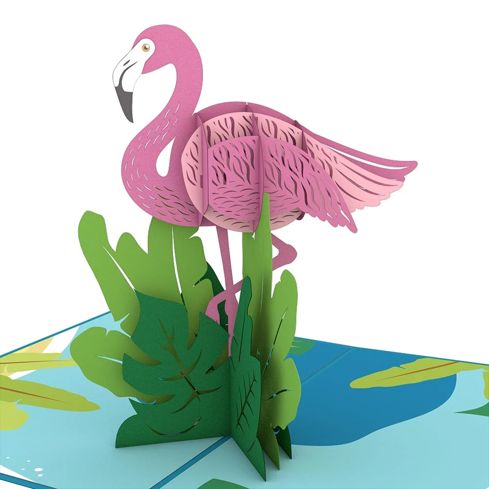 Image For Flamingo 3D Card by Lovepop