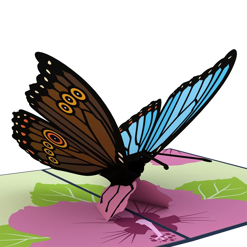 Image For Blue Morpho Butterfly 3D Card by Lovepop