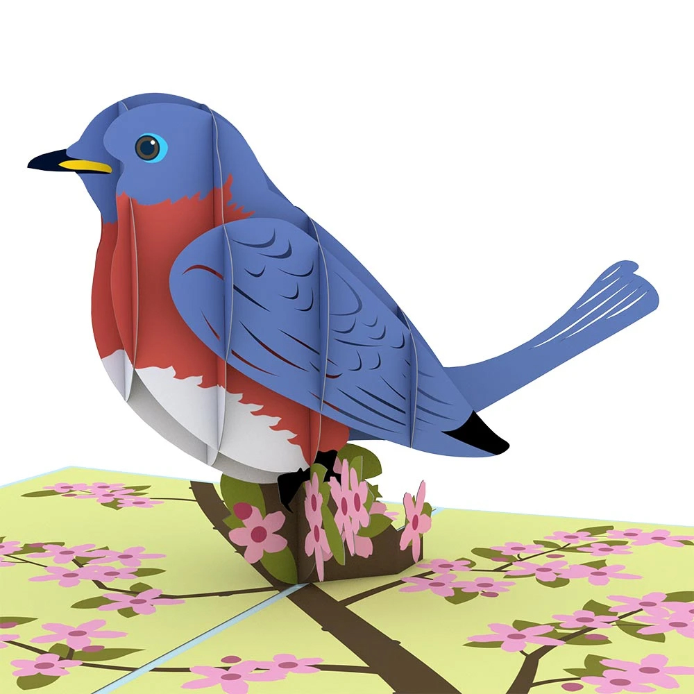 Image For Bluebird 3D Card by Lovepop