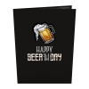 Cover Image for Beer-th Day 3D Card by Lovepop