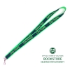 "Cover Image for Colorado State University 3/4"" Woven Lanyard- Black"