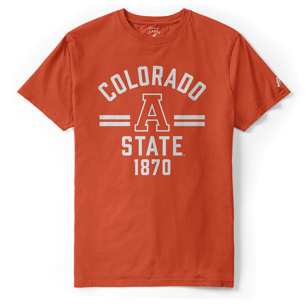 Image For Orange A Colorado State Shirt by League