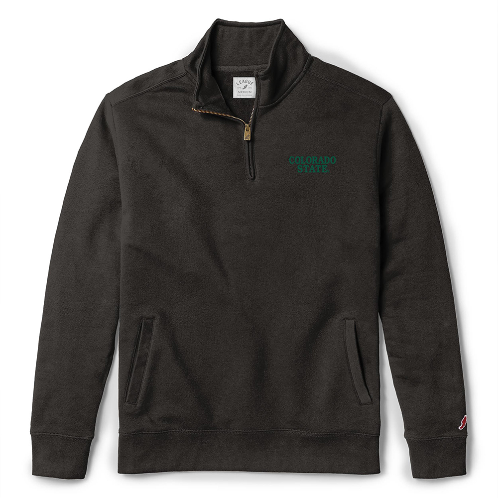 Image For Black Colorado State Sweater by League