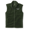Cover Image for Hunter Green CSU Shoreline 1/4 Zip Vest by Cutter & Buck