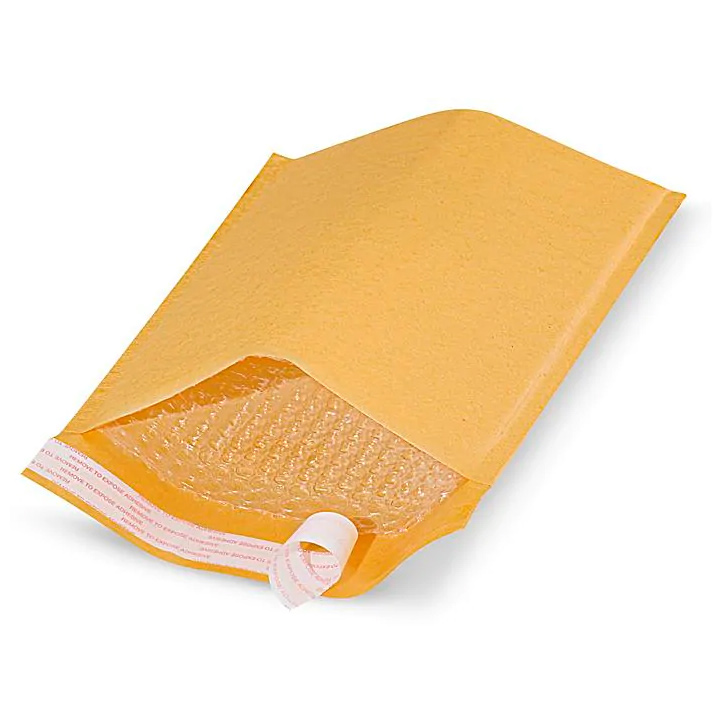Image For Self-Seal Gold #2 Bubble Mailer Envelope