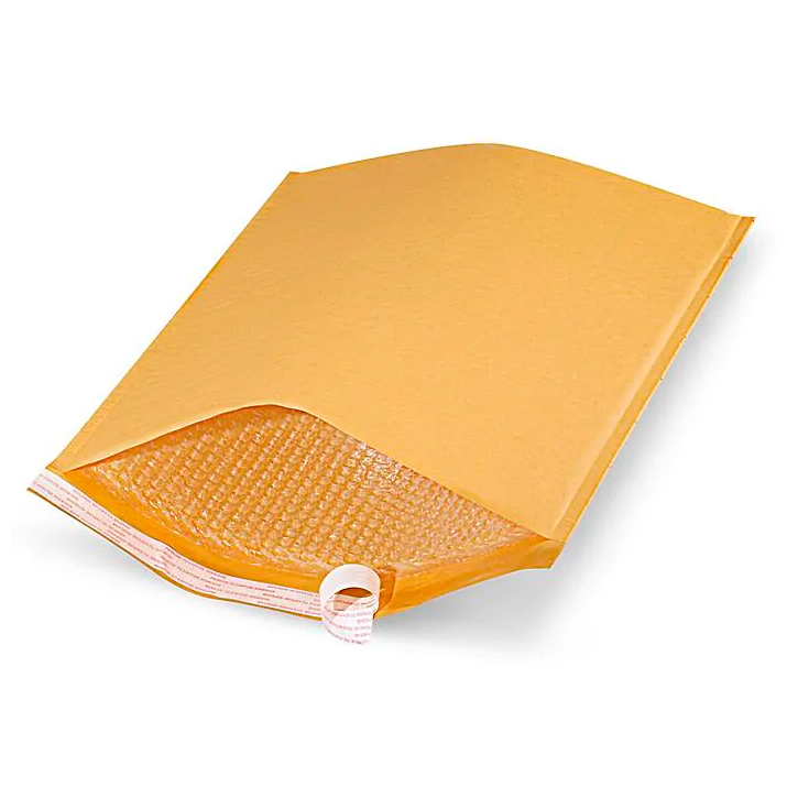 Image For Self-Seal Gold #7 Bubble Mailer Envelope