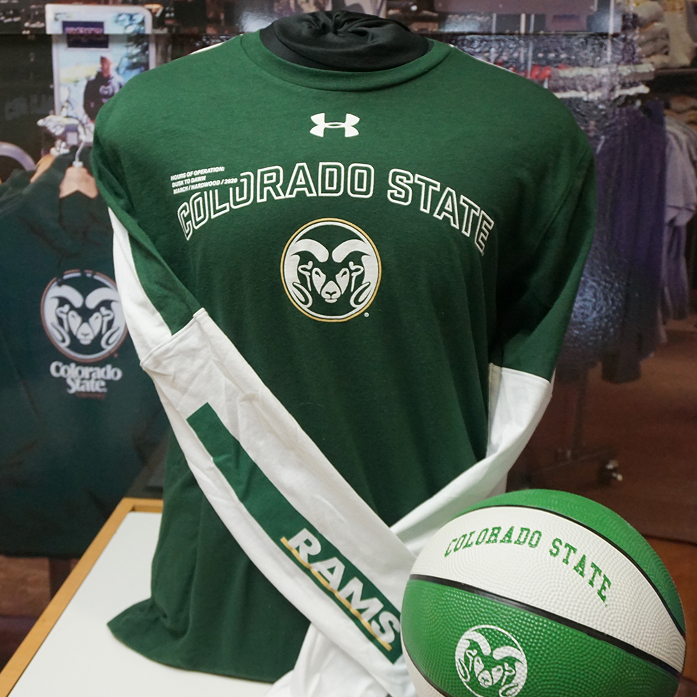 Image For Green Colorado State Hardwood 2020 Shooter Shirt