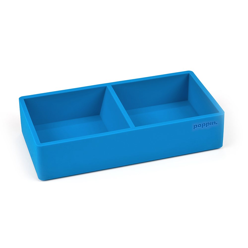 Cover Image For Poppin. Pool Blue This & That Tray