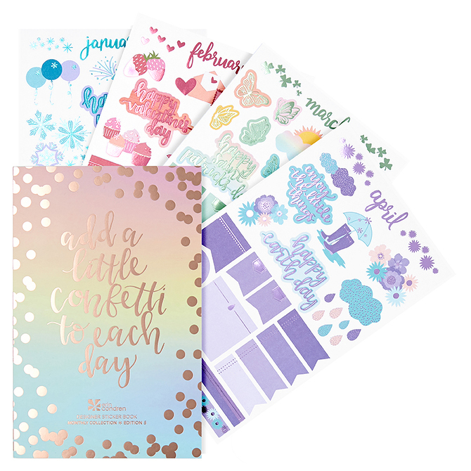 Image For Sticker Book Monthly Edition by Erin Condren