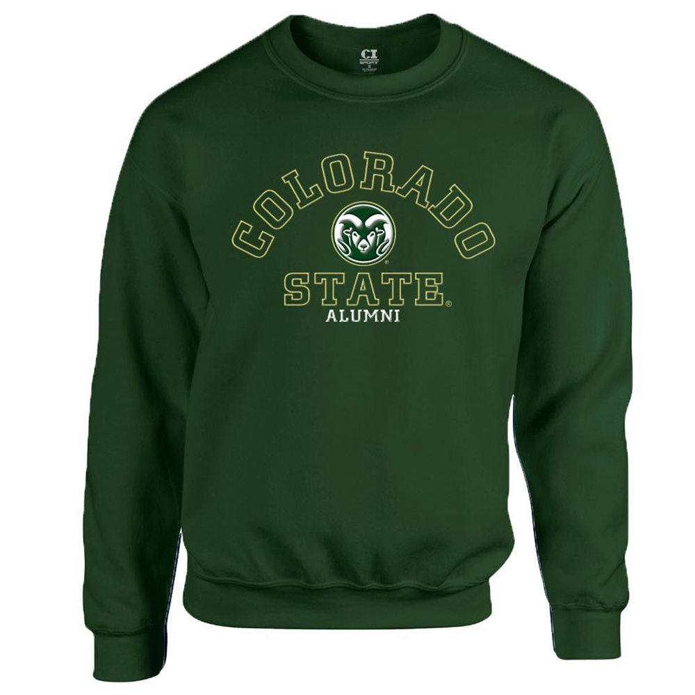 Image For Green Alumni Crew neck Sweater