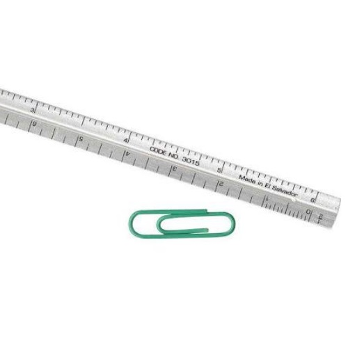 "Image For Alumicolor 6"" Pocket Ruler"