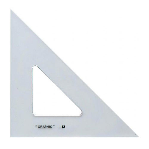 "Image For 12"" Academic Acrylic Triangle by Alvin"