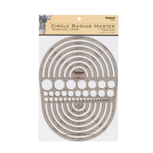Image For Pickett Circle Radius Master Template
