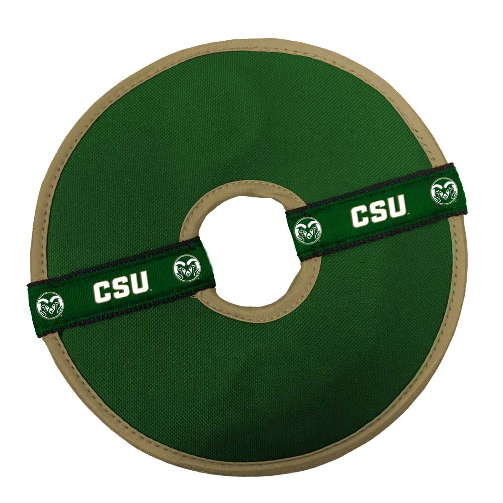 Image For Colorado State University Flying Disc Dog Toy