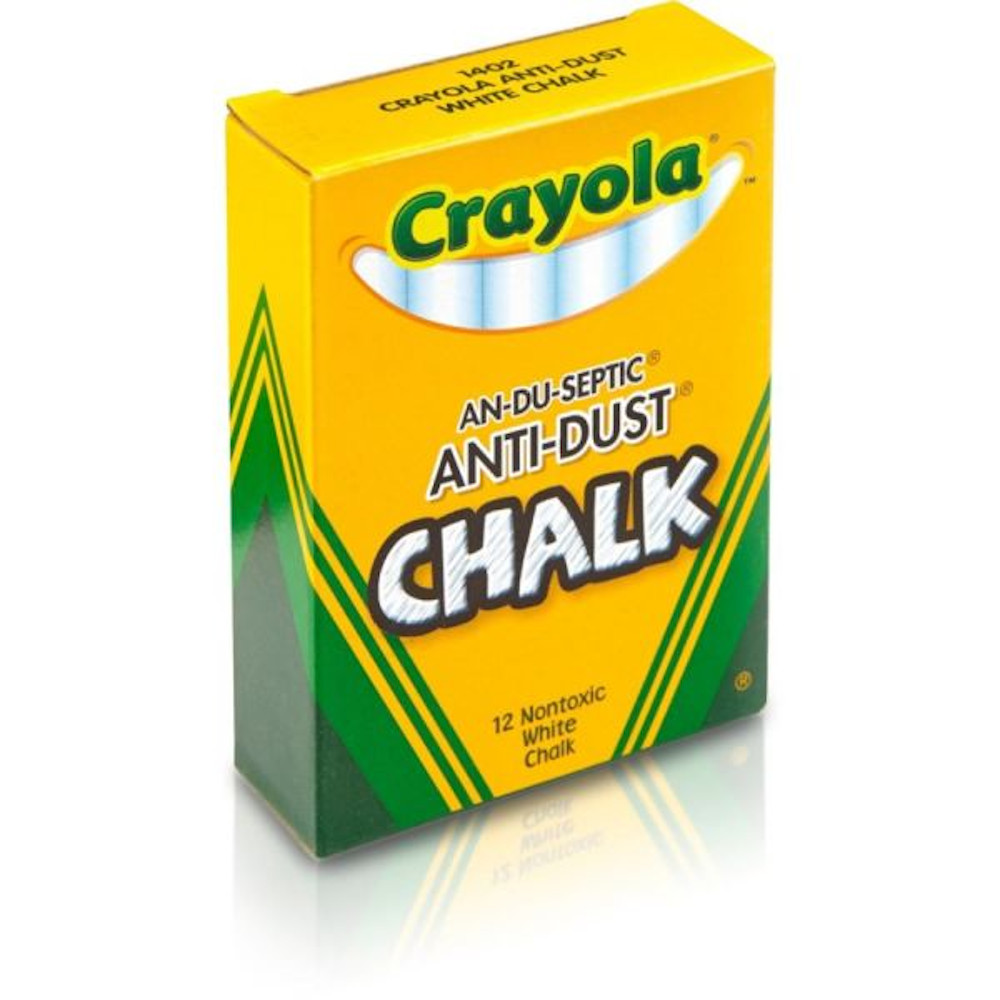 Cover Image For Crayola Nontoxic Anti-Dust Chalk