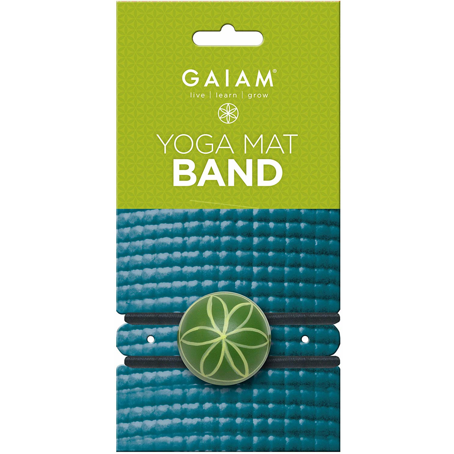 Image For Gaiam Yoga Mat Band
