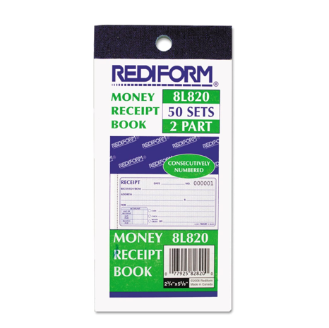 Cover Image For Rediform Money Receipt Book