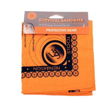 Image For UST Orange Survival Bandana