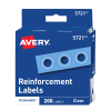 Cover Image for Avery White Self-Adhesive Reinforcement Labels