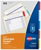 Cover Image for Avery A-Z Customizable Table of Contents Dividers