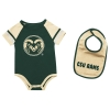 Cover Image for Green Infant CSU Rams Romper by Colosseum