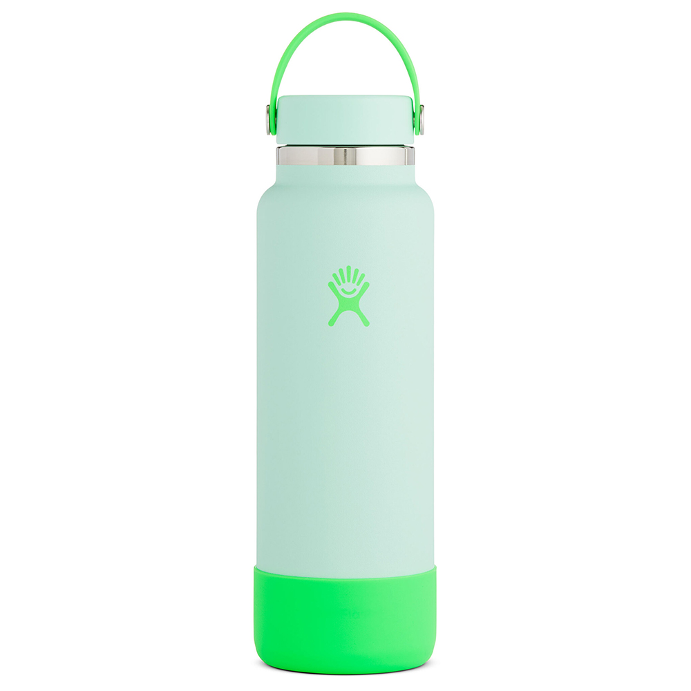 Image For Limited Edition Seafoam 40oz Wide Mouth Hydro Flask