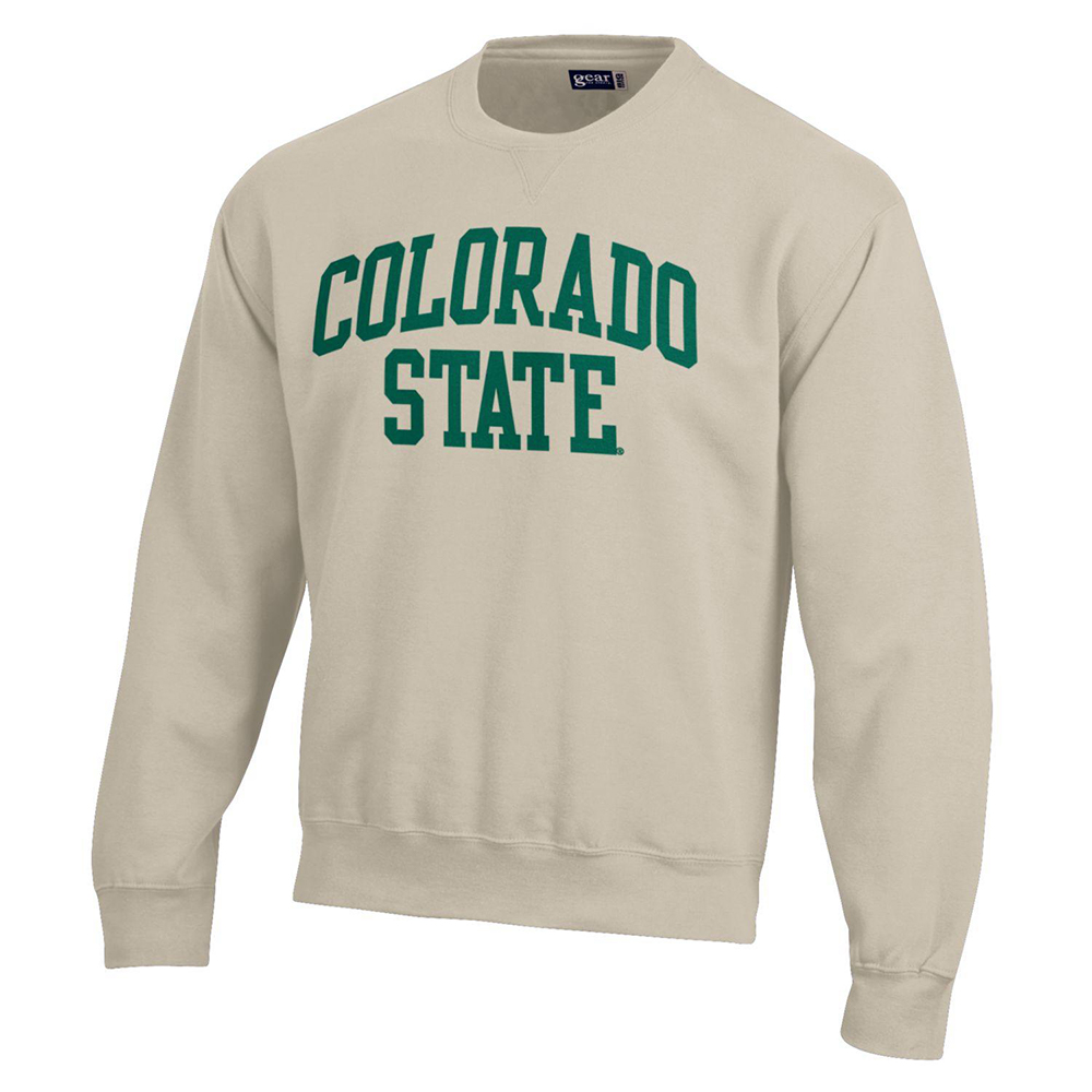 Image For Oatmeal Big Cotton Colorado State Sweatshirt by Gear