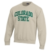 Cover Image for Charcoal Colorado State with Ram Head Sweatshirt by Gear