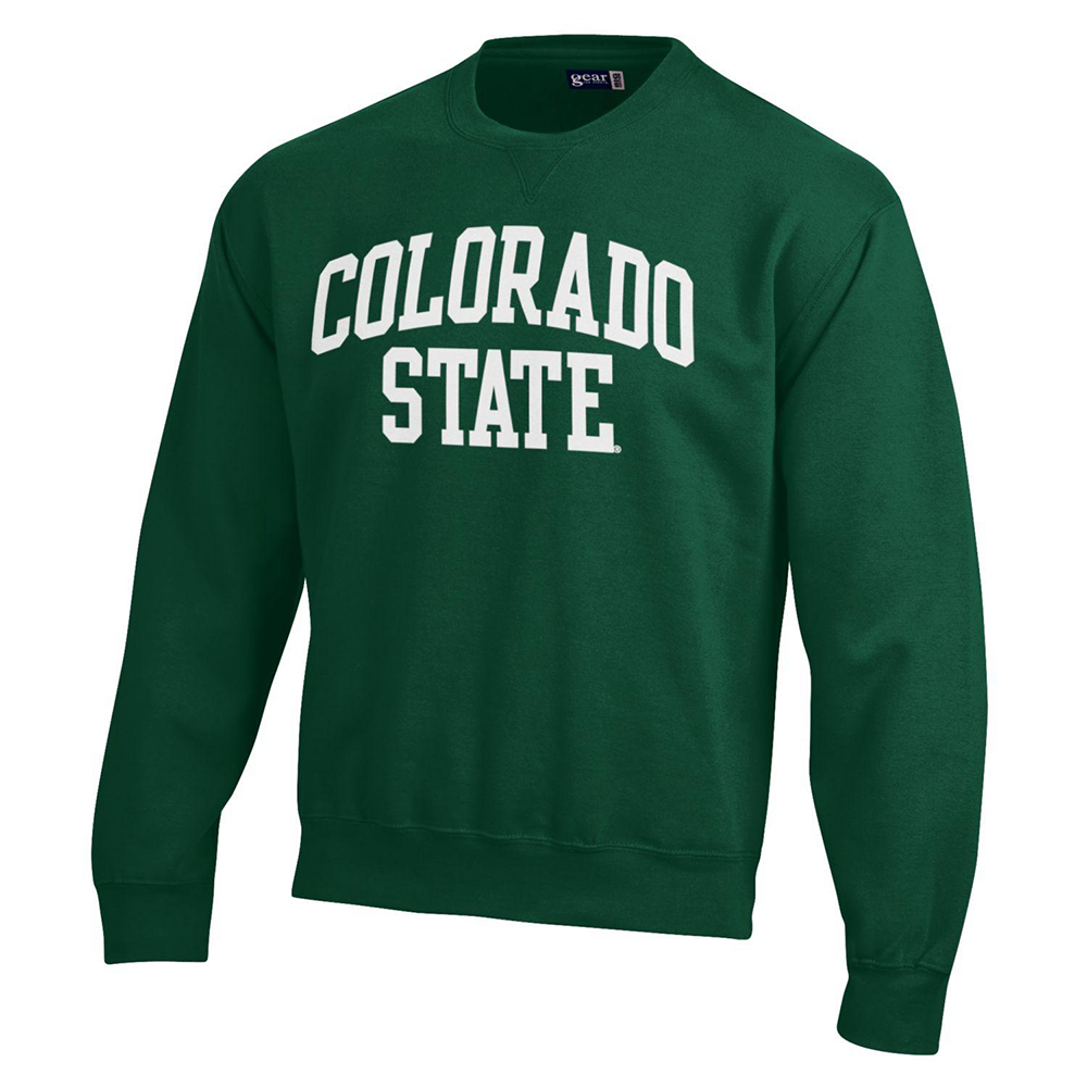 Image For Green Big Cotton Colorado State Sweatshirt by Gear