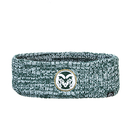 Image For CSU Rams Green and White Vertical Headband by Zephyr