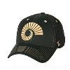 Green Large Ram Horn Pregame Stretch Hat by Zephyr Image