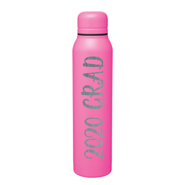 Cover Image For Bubblegum 17oz Stainless Steel 2020 Grad Silo Water Bottle