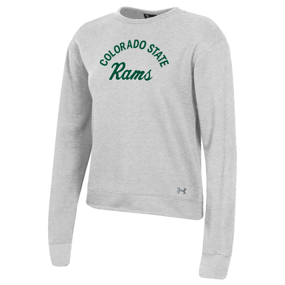 Image For Silver Heather Colo State Rams Long Sleeve by Under Armour