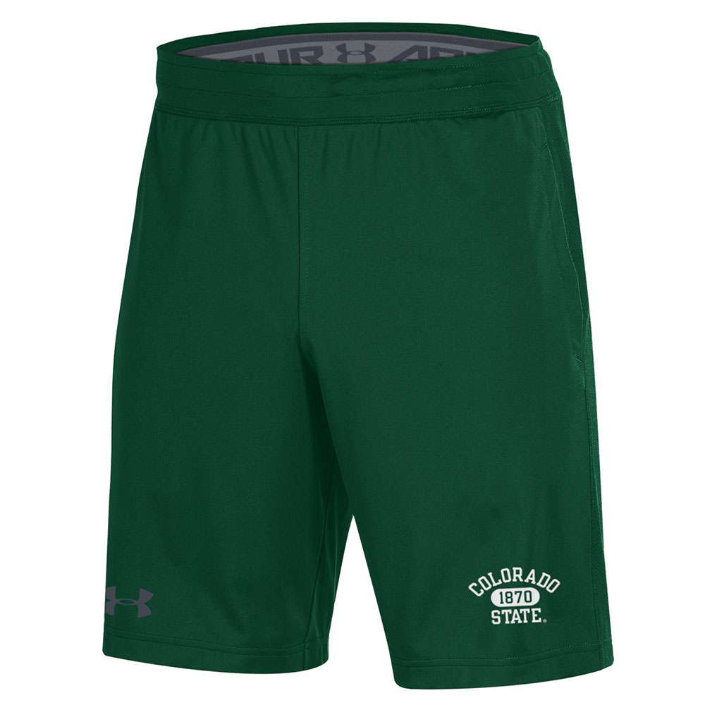Image For Green Raid Colorado State 1870 Shorts by Under Armour