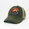 Cover Image for Green Colorado State Trees Structured Twill Hat by Champion