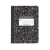Cover Image for 5x5 Quad Ruled Marble Notebook - 80 Sheets
