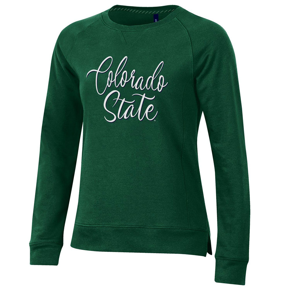 Image For Green Colorado State Ladies Fleece Sweatshirt by Gear