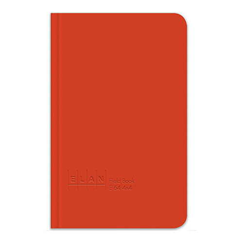 "Image For Orange 8""x4"" Field Book by Elan"