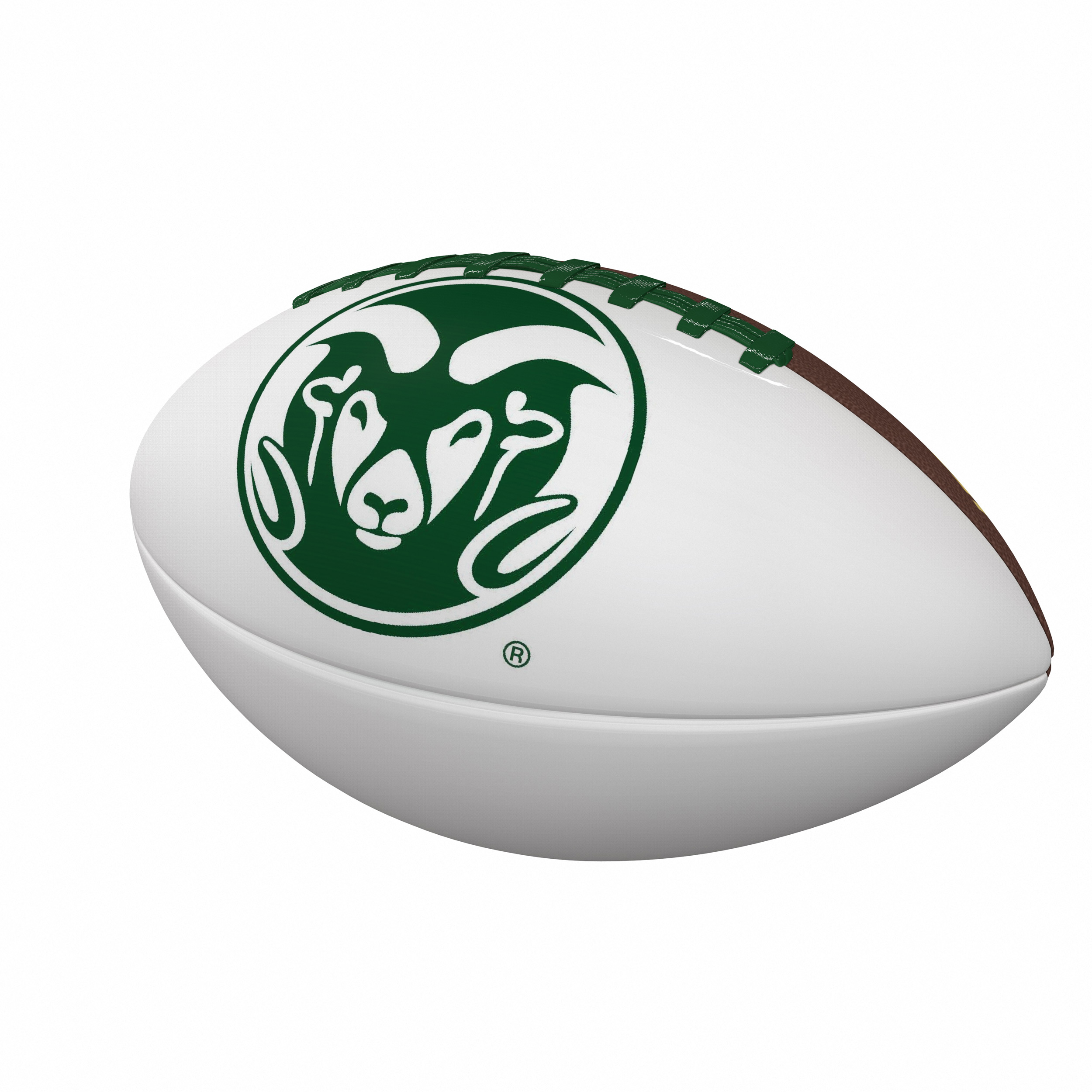 Image For Officially Licensed CSU Full-Size Football by Logobrands