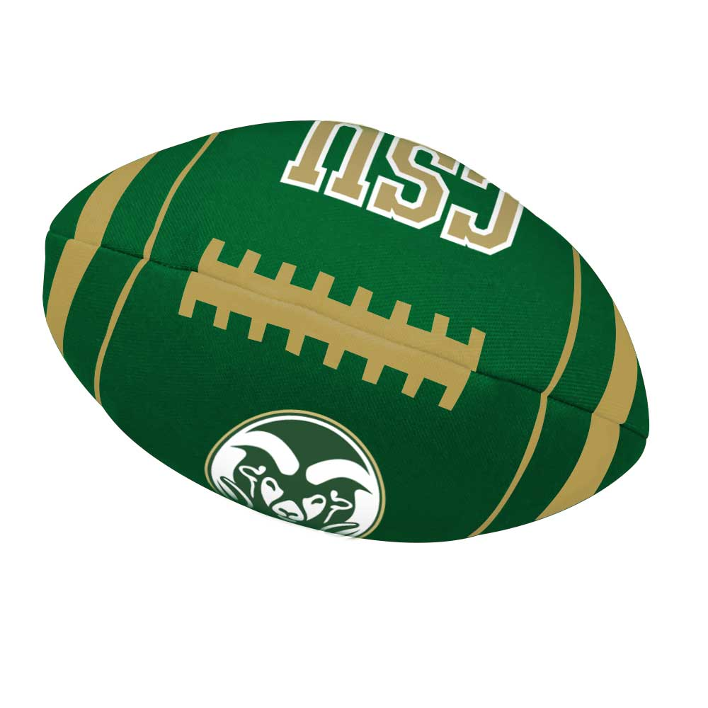 Image For CSU Rams Football Dog Toy