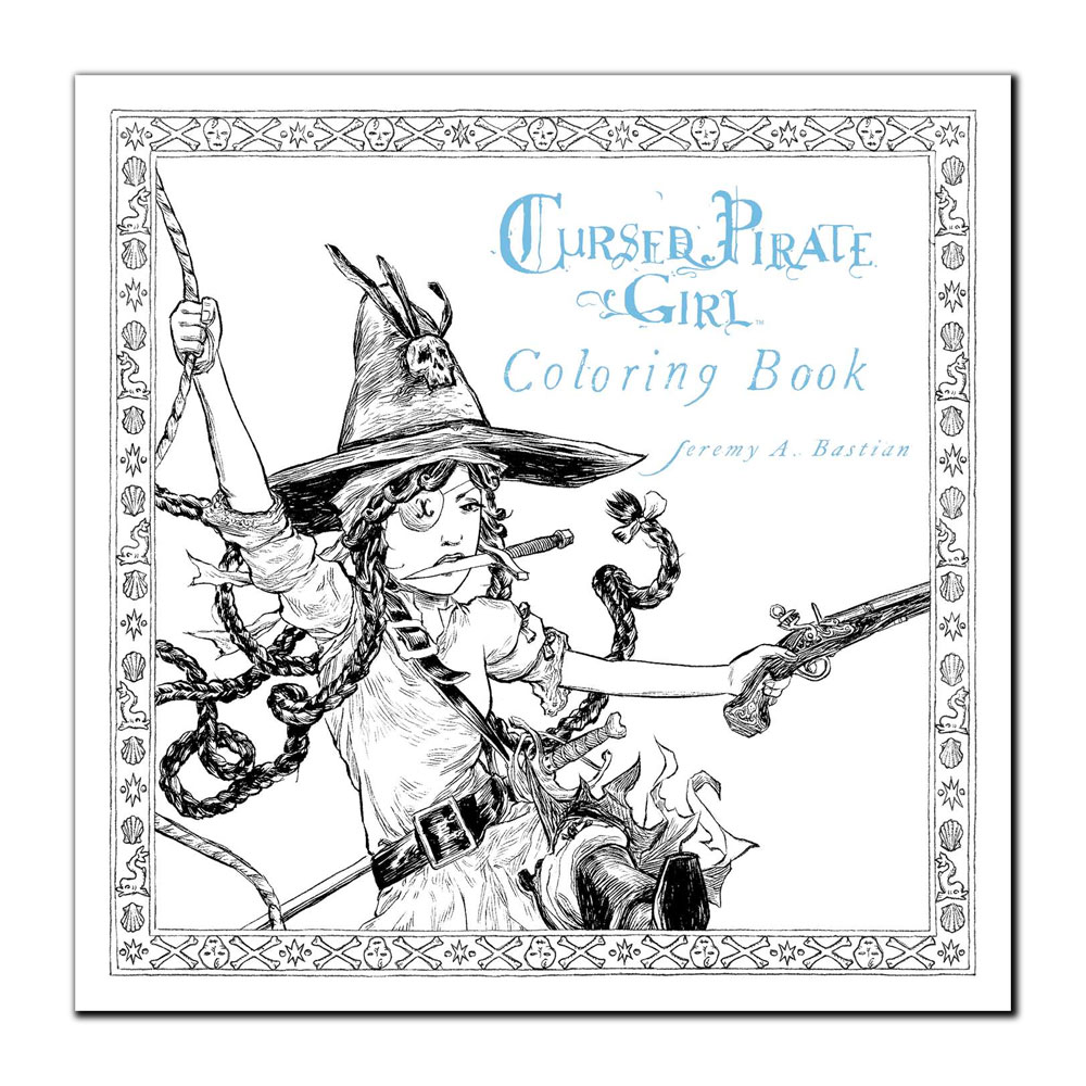 Image For Cursed Pirate Girl Coloring Book