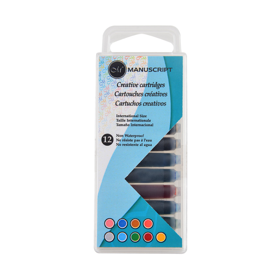 Image For 12 Piece Ink Cartridge (Variety)