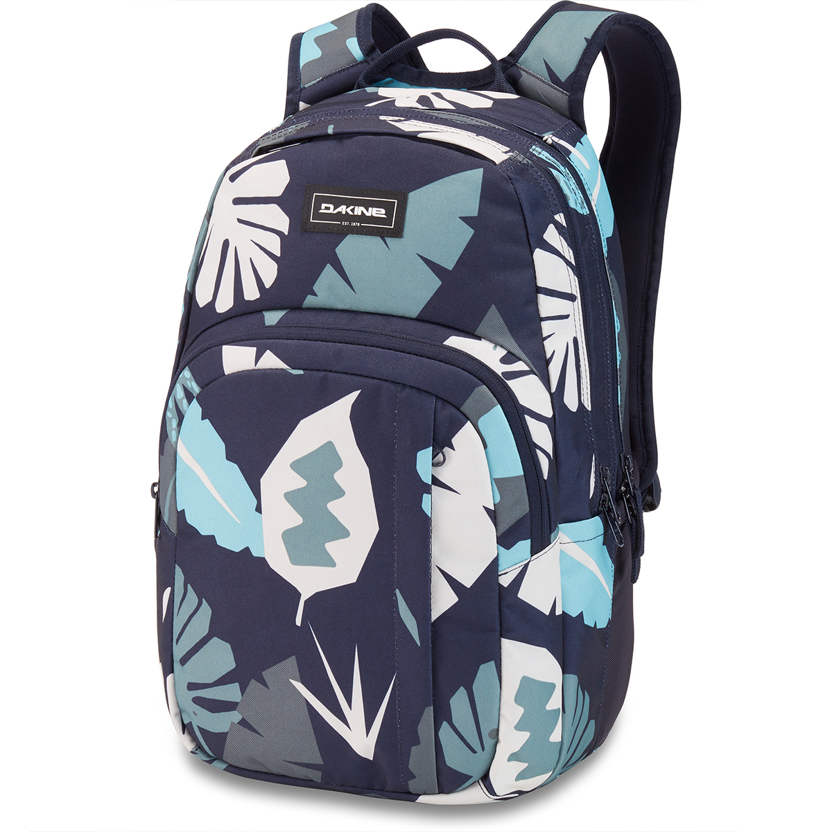 Image For Blue Abstract Palm Campus M 25L Backpack by Dakine