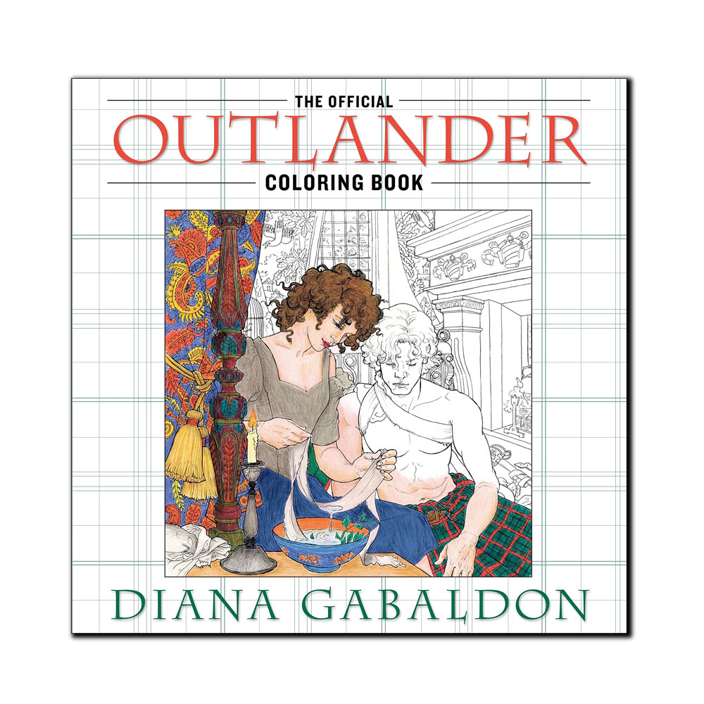 Image For The Official Outlander Coloring Book