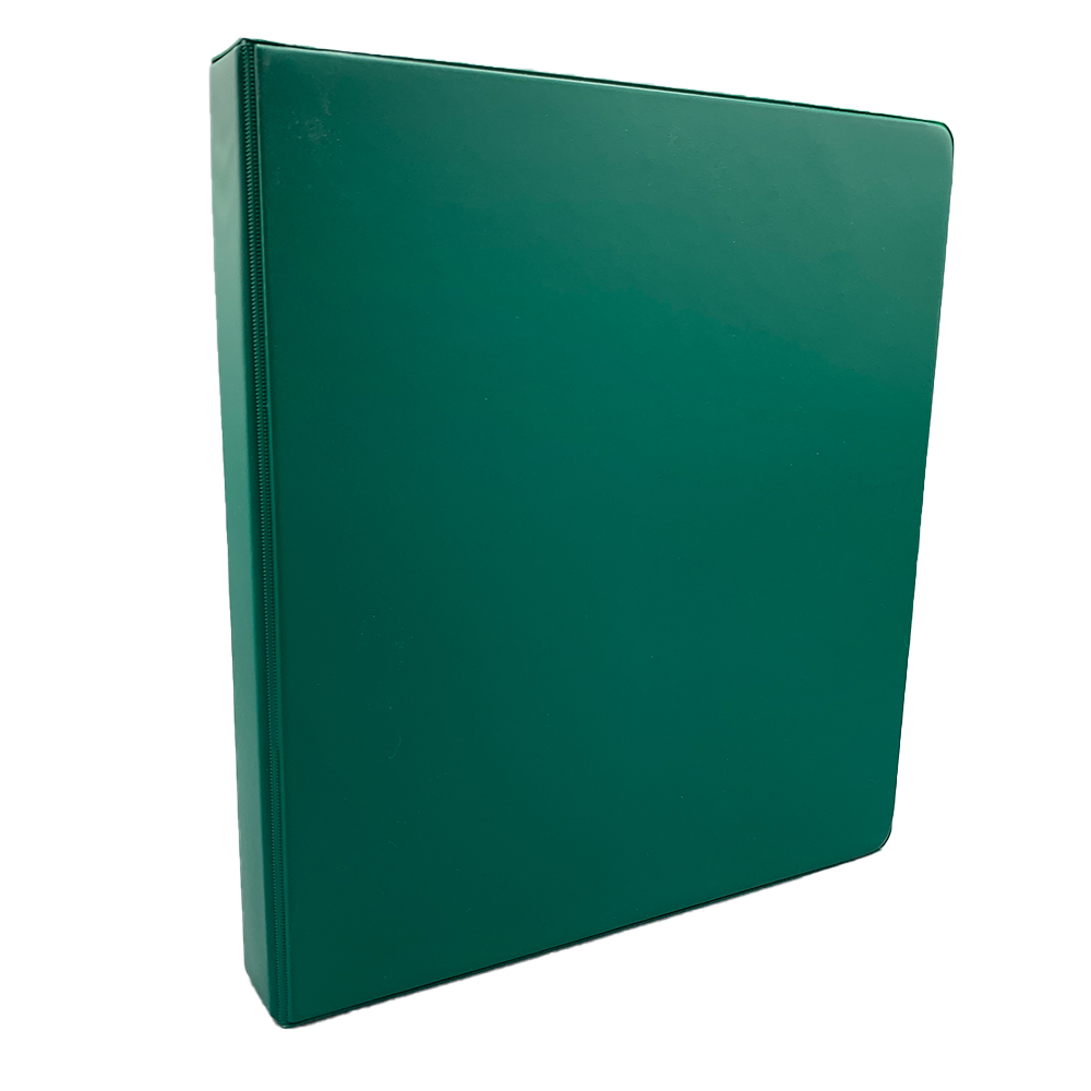 "Cover Image For Samsill 1"" D-Ring Binder - Green"