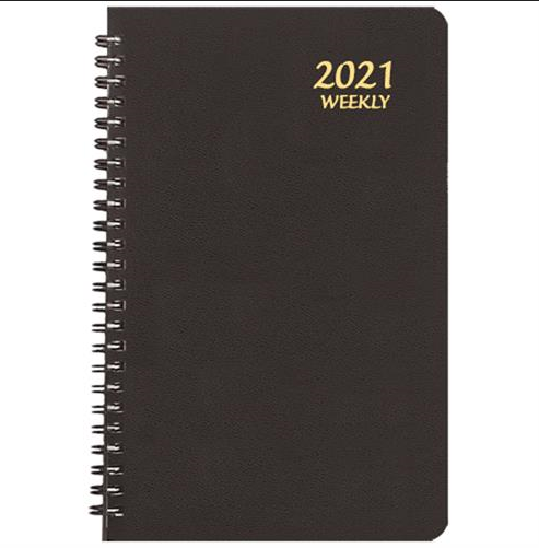Image For Black 2021 Weekly Planner by Payne Publishers