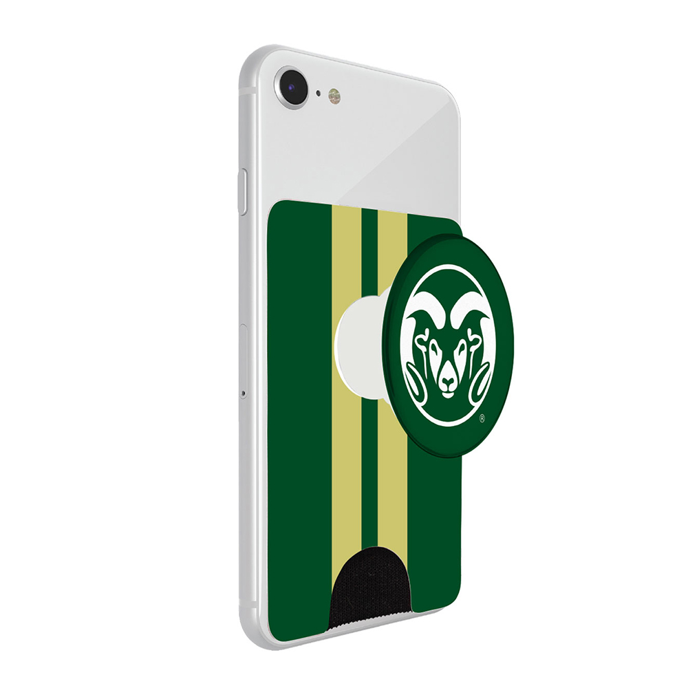 Image For CSU Rams PopWallet+ by PopSockets